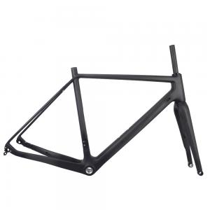 2017 DI2 LIGTH WEIGHT FLAT MOUNT CYCLOCROSS GRAVEL BIKE FRAME