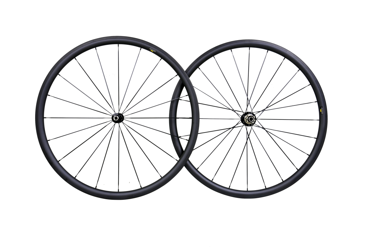 20MM CLINCHER FULL CARBON ROAD WHEELSET