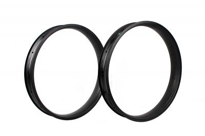 80MM TORAY T700 FULL CARBON FAT BIKE CLINCHER RIMS