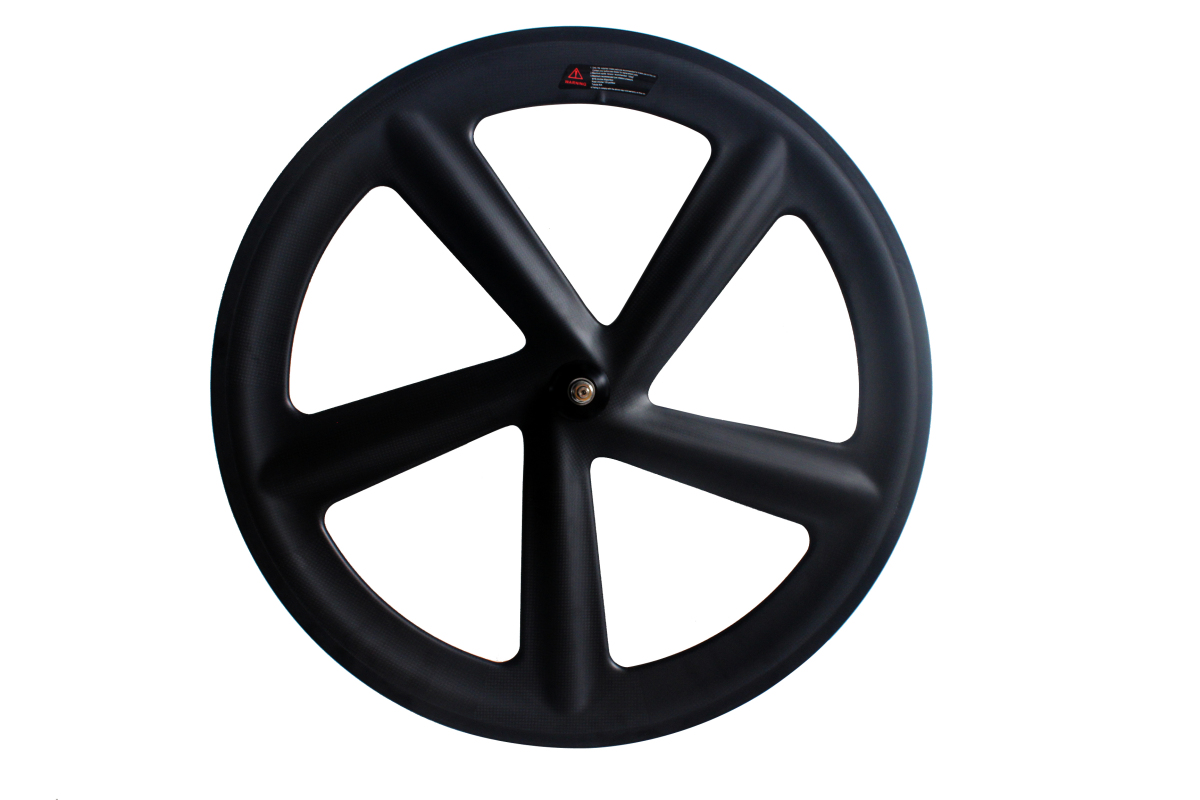TORAY T700 FULL CARBON FIVE SPOKES ROAD TRACK CLINCHER WHEELS