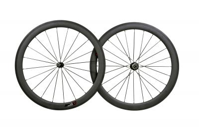 50MM CLINCHER FULL CARBON WHEELSET