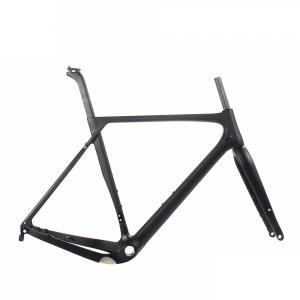 2017 NEW T800 FULL CARBON 40MM FLAT MOUNT GRAVEL BIKE FRAME