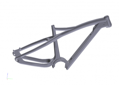 MOULD FOR SALE TQ-DRIVER HARDTAIL ELECTRIC FAT BIKE FRAME PL197
